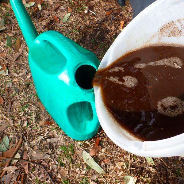 как использовать жидкое зелёное удобрение