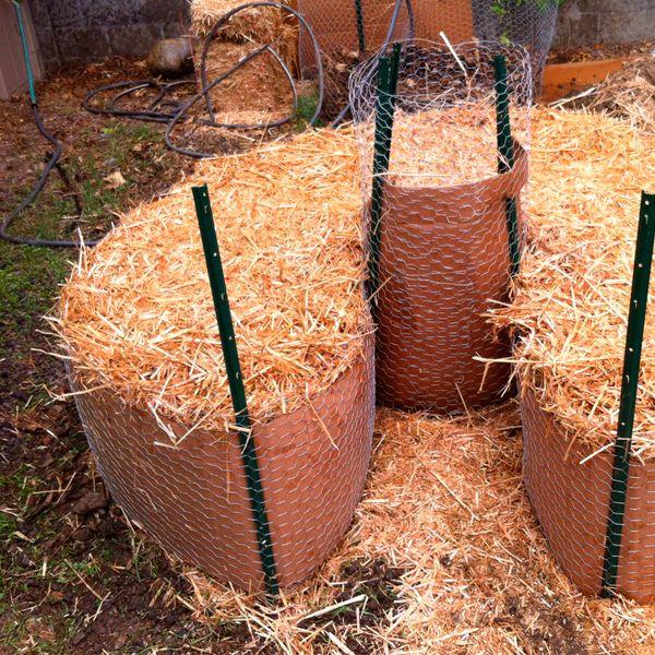 солома как органическое удобрение