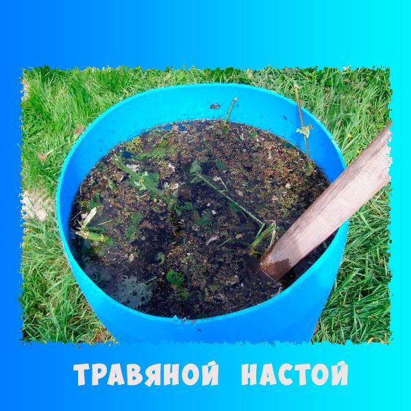 жидкое органическое удобрение из травы
